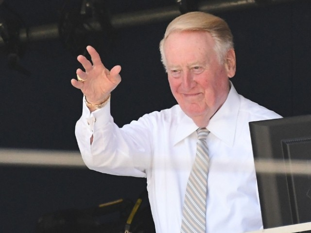 WATCH: Vin Scully Shares Special Message with Baseball Fans During Virus Lockdown