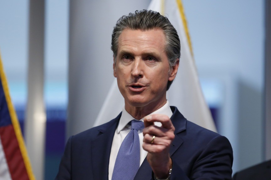 California Governor Issues 'Stay at Home' Order for Residents