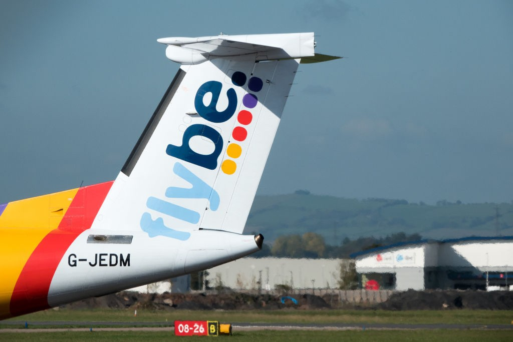 Coronavirus Kills an Airline: UK's Flybe Collapses as Bookings Fall