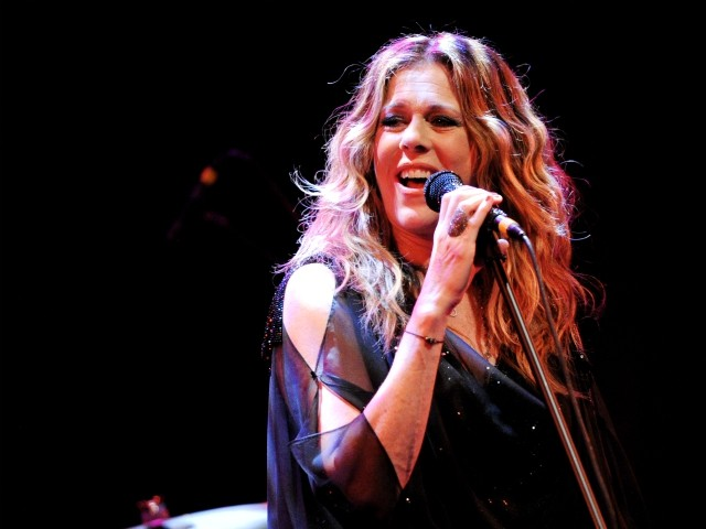 Watch: Actress Rita Wilson Performs New Song for Fans Online During Coronavirus Quarantine