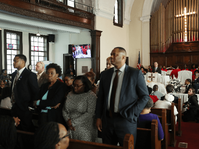 Black Voters Turn Their Backs on Mike Bloomberg During Church Service
