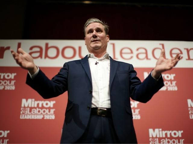 Top Labour Leader Candidate Starmer Won't Rule out Campaigning to Rejoin EU