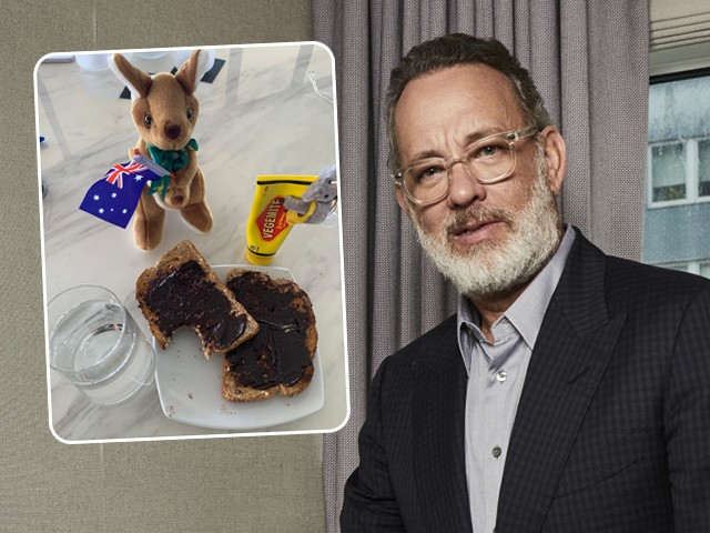 Tom Hanks Thanks Healthcare Workers Down Under By Sharing Photo of Vegemite Sandwich