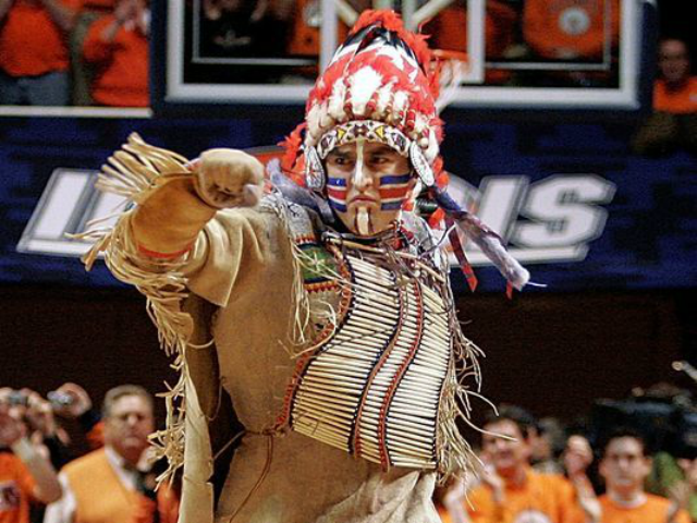 U. of Illinois Offers 'Buyback' on 'Racist' Merchandise of Indian Chief Mascot