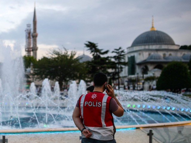Turkish Mosque Turned into Temporary 'Supermarket'