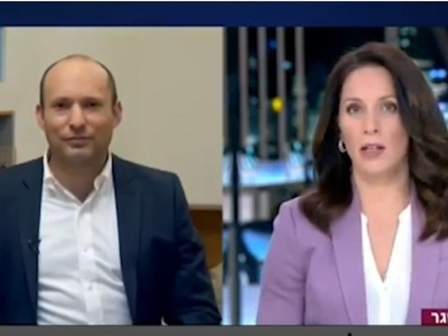 WATCH: Israeli Defense Minister's Kid Crashes Live TV Interview