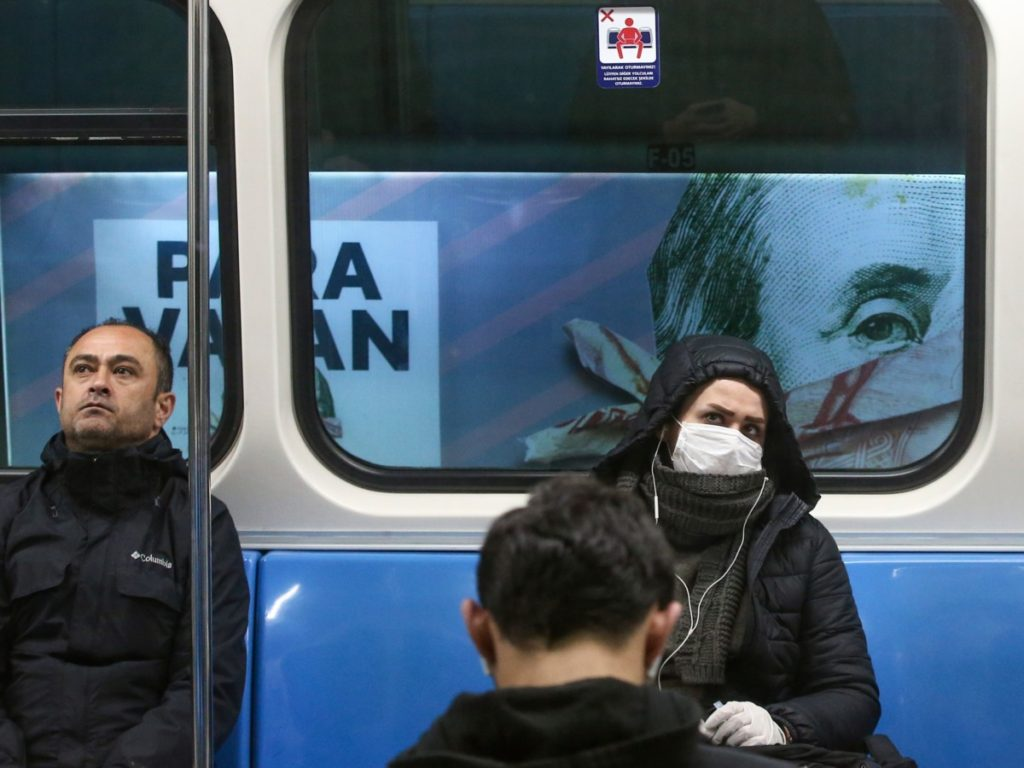 Turkey Tightens Controls in Public Places over Coronavirus Threat