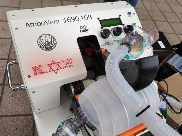 AmboVent: Israeli Low-Cost Invention Proposes Solution to Ventilator Crisis