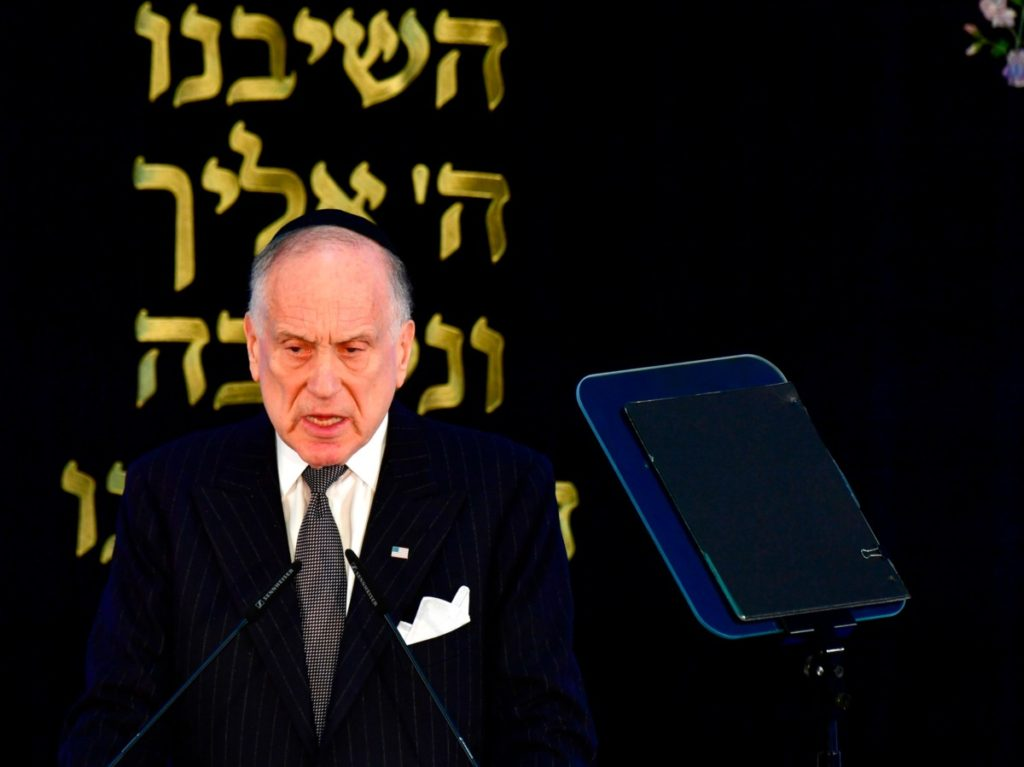 Ronald Lauder Warns Against Scapegoating Asian-Americans and Jews Over Coronavirus