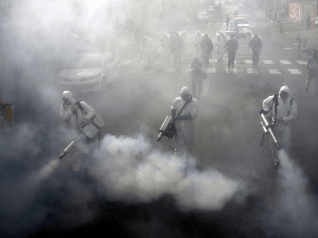 W.H.O. Warns Countries Against Spraying Streets with Disinfectant