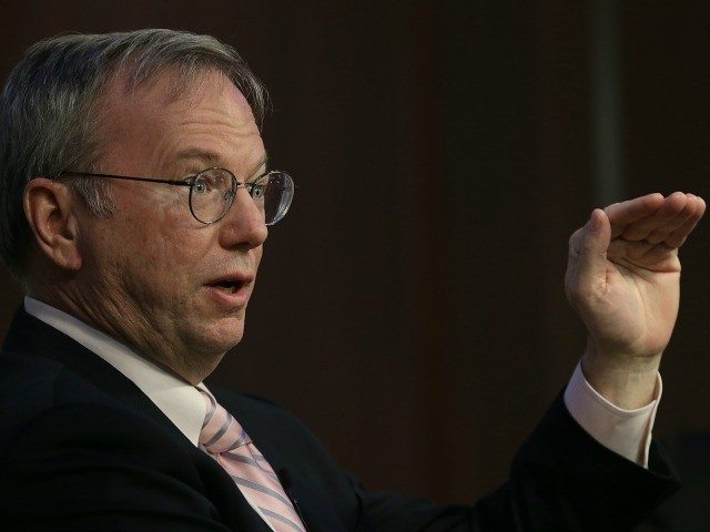 Former Google CEO Eric Schmidt Tapped to 'Reimagine' New York State Post-Pandemic