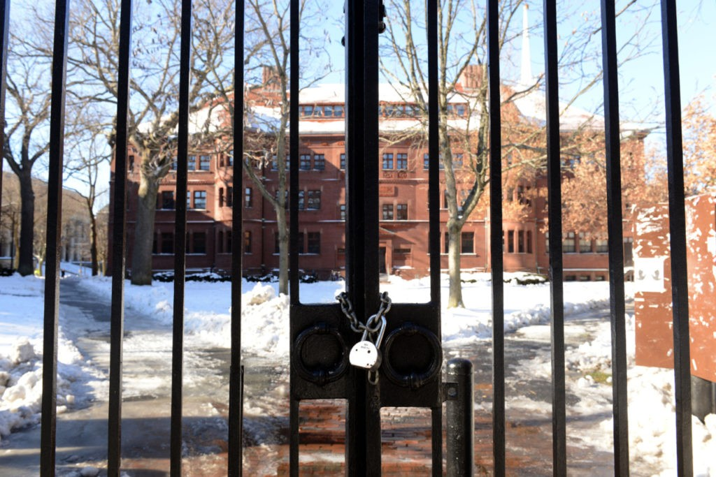 Students Sue Harvard over Campus Shutdown