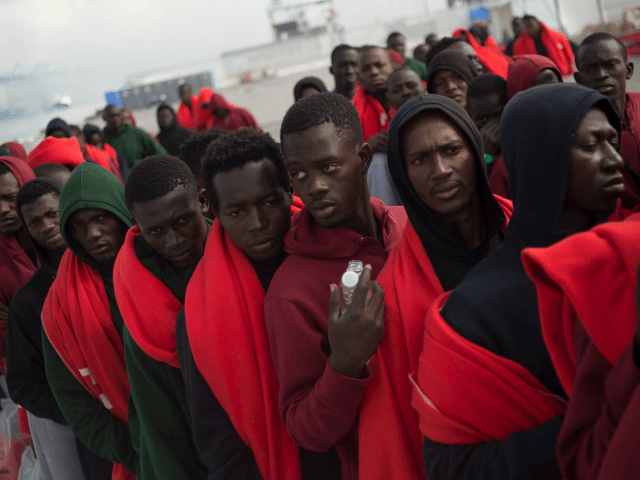 Cargo Vessel Unloads Migrants in Sicily As Migrant Route Numbers Rise