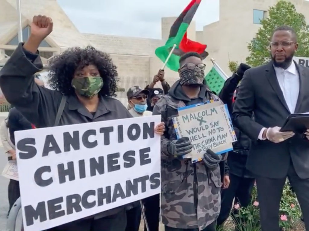 New Black Panther Party Launches Boycott of 'Chinese Merchants' to Protest Racism