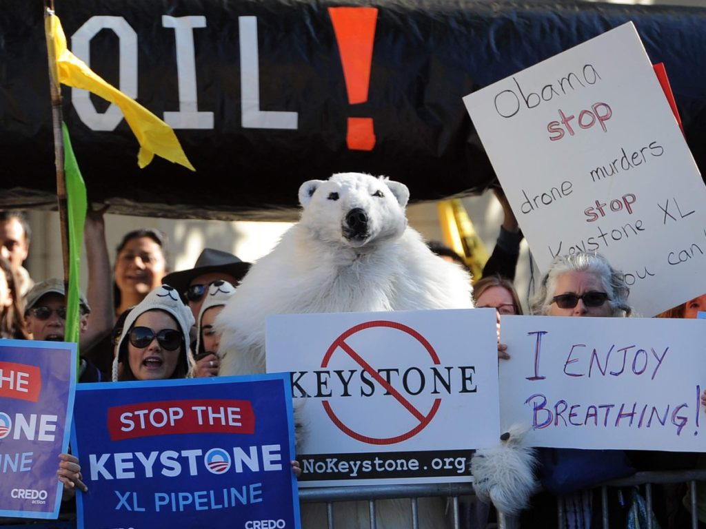 Joe Biden Vows to Stop Keystone XL Pipeline 'For Good' If Elected