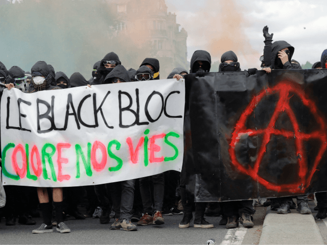 Far-Left Antifa Extremists Set French Post Office Vans Ablaze