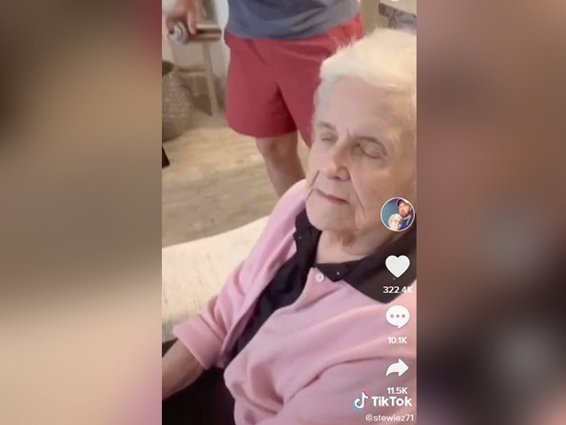 TikTok Star Gives Grandmother 'Salon' Treatment During Lockdown
