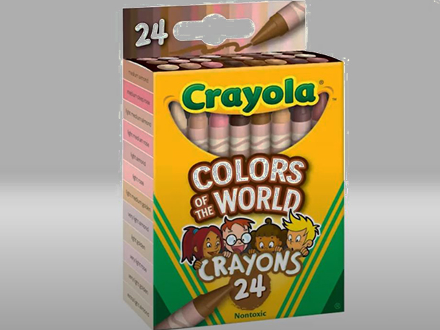 Crayola Launches 'Colors of the World' Skin Tone Coloring Set