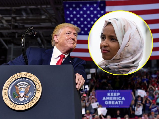 Ilhan Omar Rages: Israel's 'Destructive Polices' Are 'Rubber Stamped' by Trump Administration