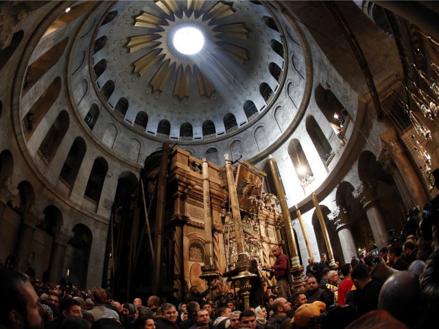 Jerusalem's Holy Sepulchre Church Open for First Time in Two Months