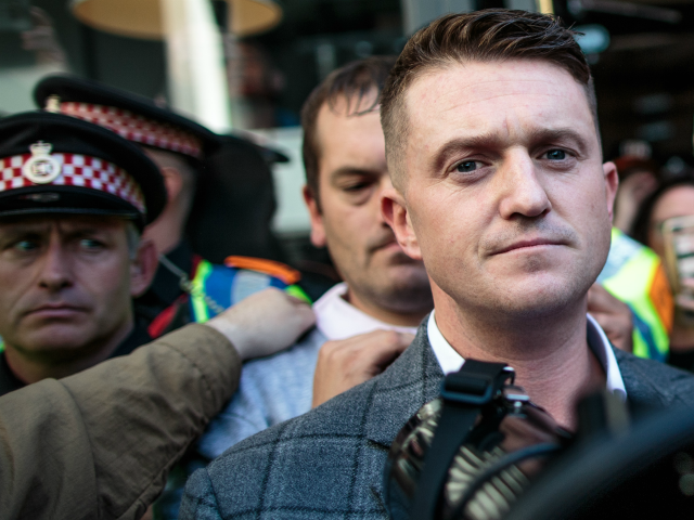 Delingpole: Tommy Robinson Driven Into Exile by Arson Attack; Suspects BLM