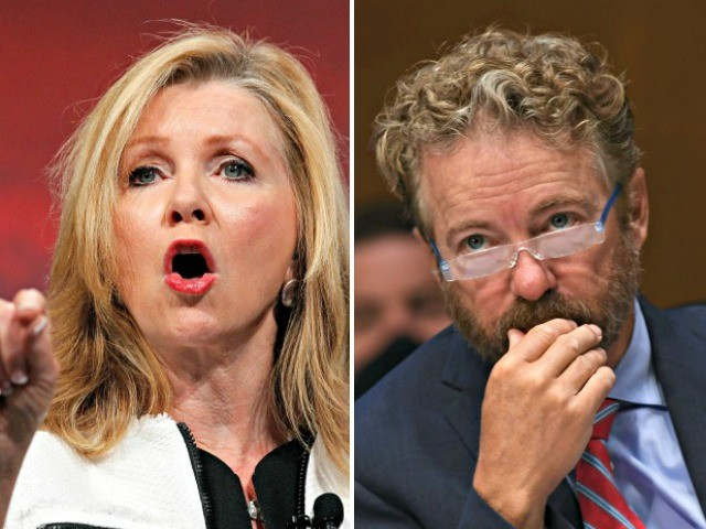 Exclusive — Sen. Marsha Blackburn: Rand Paul Tennessee Attack Ad a 'Broadsided Slap at Me'