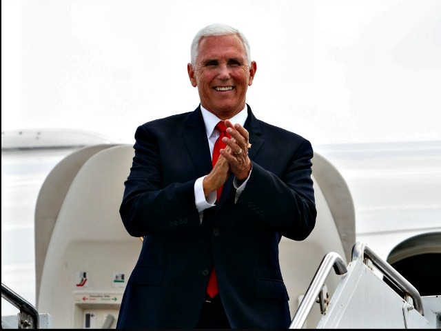 Exclusive — Pence: Only Thing Standing Between America and Agenda of Far Left Is 4 More Years of President Donald Trump