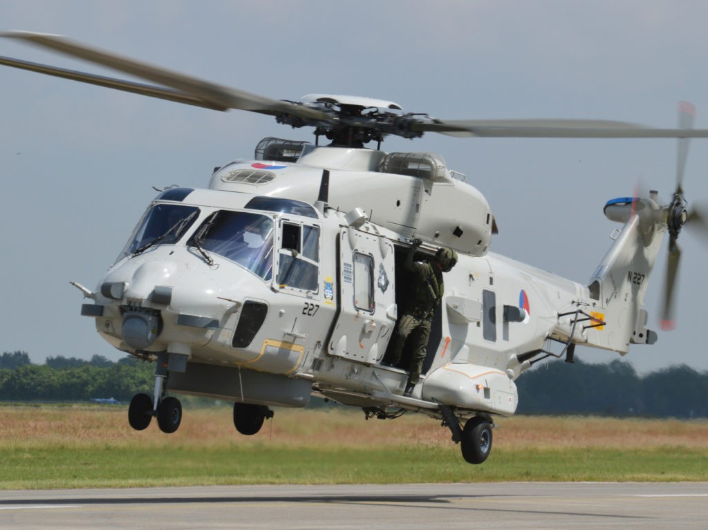 Two Killed in Dutch Military Helicopter Crash in Caribbean Sea