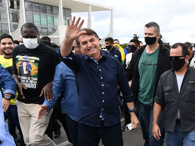 Bolsonaro Updates Coronavirus Haters: 'I Regret to Inform You I Am Very Well'