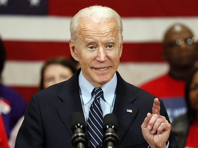 Charles Hurt: The Unbearable White Privilege of Joe Biden