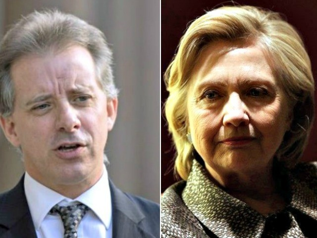 U.K. Court Documents: Steele Told FBI Clinton Knew He Was Compiling the Dirty Dossier
