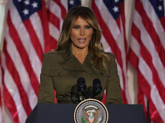 First Lady Melania Trump: 'We Have Not Forgotten the Incredible People' Who Sent Donald Trump to White House