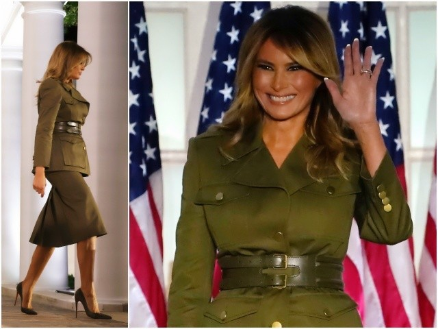 Fashion Notes: Melania Trump Steals the Show at RNC in Military McQueen