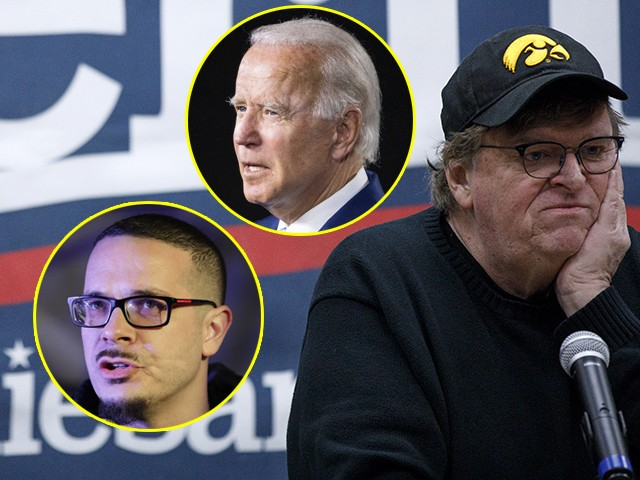 Michael Moore, Shaun King Say They'll 'Settle for Biden'