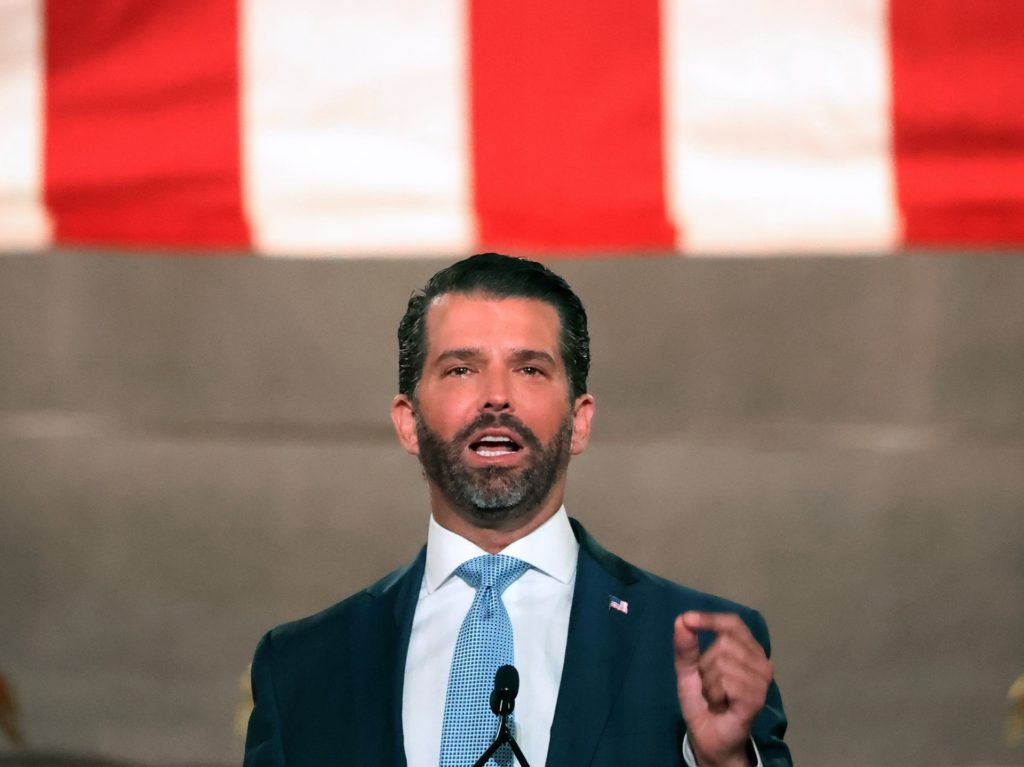 Donald Trump Jr.: Not a Single Democrat Condemned Violence and Looting During DNC