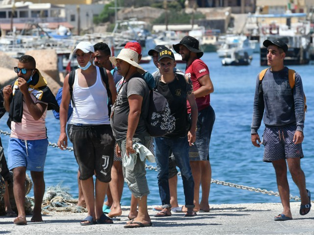 Italian Island of Lampedusa Runs out of Room to Quarantine Arriving Migrants