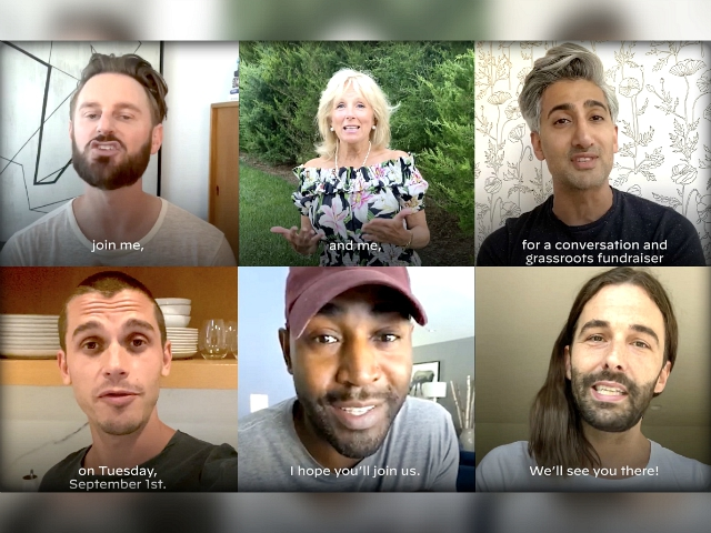 Jill Biden Teams up with Neflix's 'Queer Eye' Cast for Campaign Fundraiser