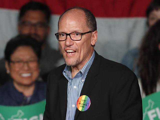 DNC Chair Tom Perez: Let's Give Trump 'Nightmarish Nights,' 'Make Sure He Doesn't Sleep'