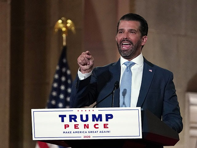 Donald Trump Jr. Slams Chinese Communist Party for Coronavirus, Backing Biden
