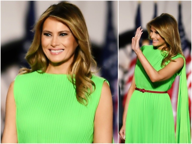 Fashion Notes: Melania Trump Is Electric Elegance in Valentino at RNC