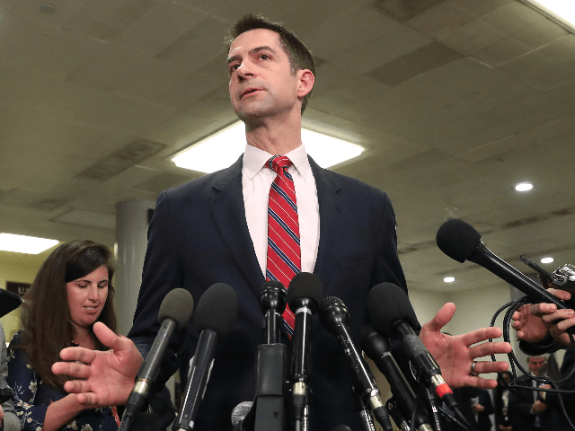 Tom Cotton Calls for U.S. to Revoke China's Permanent Most Favored Nation Status, a Decision Biden Supported