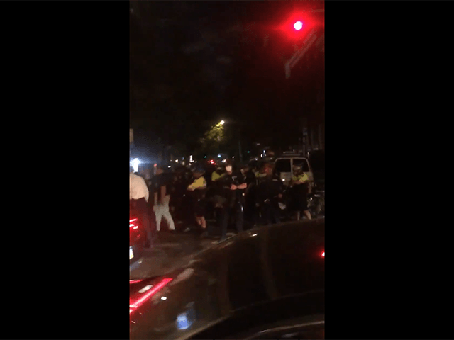 WATCH: Police Rush Black Lives Matter Protesters, Arrest 12 in NYC's West Village