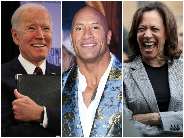 Dwayne Johnson Endorses Joe Biden and Kamala Harris: 'You're a Certified Bad*ss'