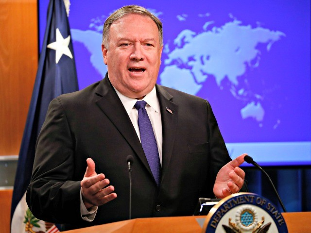 Mike Pompeo Speaks with NATO Chief About Mediterranean Tensions