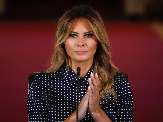 First Lady Melania Trump Hits Back: The Atlantic Story Is Not True