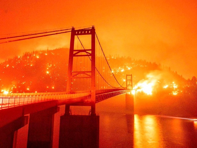 Democrats Blame Wildfires on Global Warming: 'Please Don't Tell Me the Green New Deal Is Radical'