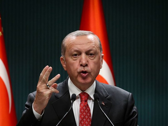 Erdogan Threatens NATO Partner France: 'Don't Mess with Turkey'