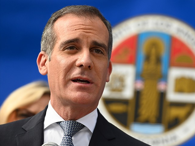LA Mayor Garcetti: Trump Administration Is 'the Last Vestiges of the Flat Earth Society'
