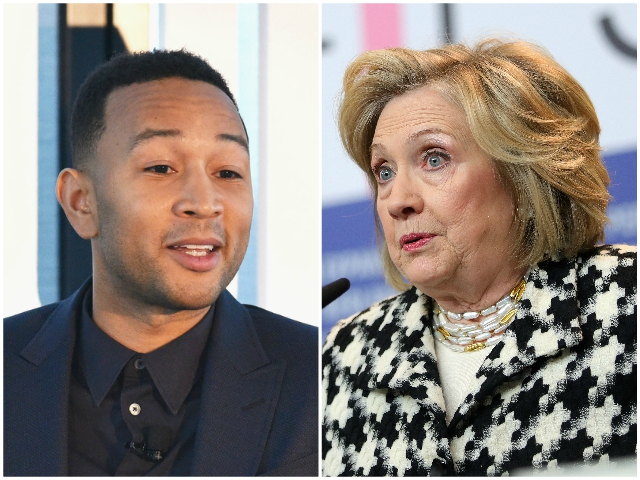 John Legend to Hillary Clinton: If We Don't Elect Joe Biden, Trump's Damage May Be Irreversible