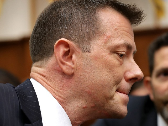 Report: Peter Strzok Admits Falsehood in His Book About Russia Collusion